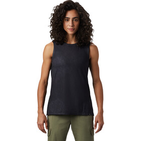 Mountain Hardwear Everyday Perfect Camiseta sin mangas fit Mujer, dark storm
